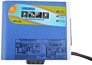 Luminous Tinplate Solar Retrofit Solution - Blue, AS06