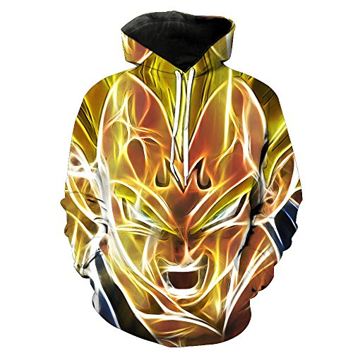 Sudadera Dragon Ball:Majin Vegeta SSJ
