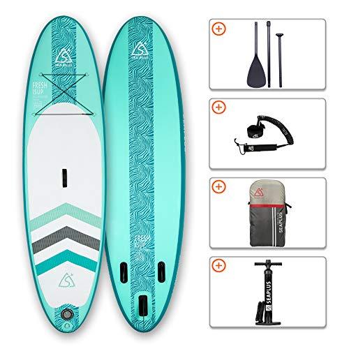 Tabla de Paddle Surf Hinchable Tabla Stand Up Paddle Board Rígida Doble...