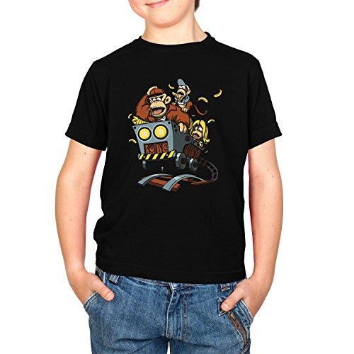 NERDO - Donkey Jones - Kinder T-Shirt, Größe L, schwarz