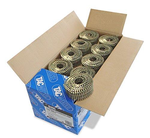 Tacwise 0495 Coilnägel Ring  Geradflächig Verzinkt (2,1/50mm,14.400 Stück pro Verpackung)