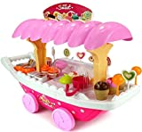 #7: Vivir High Quality Luxury Sweet Shop Cart for Kids Pretend Play Toys for 3 Year Old Boy and Girl ( Candy Cart Toy )