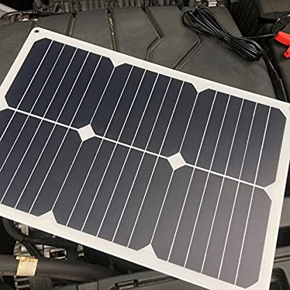 51qUK4a6zlL. SS416  - Giaride Cargador Solar Sunpower Panel Módulo Solar de 12V Baterías Cargador de Coche Portátil Fotovoltaico para Coches, Caravana, Moto, Bote, Barco
