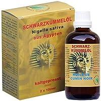 NaturGut Schwarzkümmelöl Kaltgepresst Rein Nigella Sativa Ägypten 2x100ml Pures Schwarzkuemmeloel Ägyptisches... preisvergleich bei billige-tabletten.eu