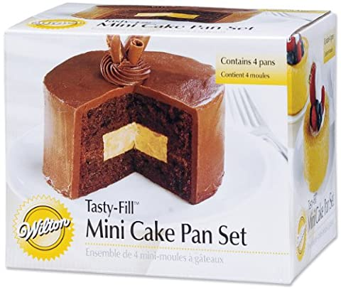 Wilton Four-Piece Mini Tasty Fill Tin Set