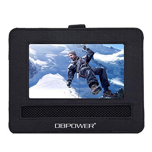"""DBPOWER Auto Kopfstützenhalterung für Drehgelenk & Flip Tragbarer DVD Player KFZ Kopfstütze Halterung Gehäuse (7.5\"""")"""
