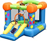 Happy Hop bj9070 – Rutsche – Party Slide and Hoop Bouncer