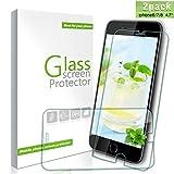 Youer iPhone 8/7/6s/6 Vetro Temperato, [2 Pezzi] 3D Toccare Compatibile Pellicola protettiva Alta Definizione, Infrangibile, 9H durezza Resistente, Ai Graffi Screen Protector per 4.7 pollici iPhone 8/7/6s/6