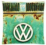 uniquetype Top Qualität Fantastische Vintage VW Volkswagen Retro Standard Vierkant-Reißverschluss Kissenbezüge Weiche