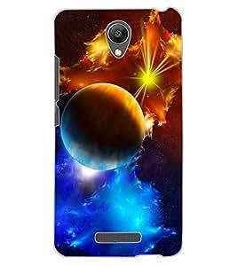 ColourCraft The Galaxy Design Back Case Cover for XIAOMI REDMI NOTE 2 PRIME