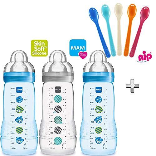Mam botellas biberones Easy Active Baby Bottle Set