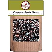 Eichkater Weinbeeren, Rosinen Jumbo Flames groß, saftig und vollmundig 2er-Pack (2x1000 g)