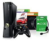 Xbox 360 250 GB + Forza Motorsport 4 - Essential Edition + Skyrim [Download] Bundle