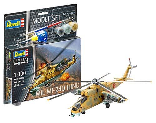 Revell revell64951mil mi-24d hind model set (pezzi)