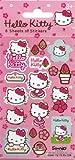 Papier Projekte Hello Kitty Blumen Sticker Pack