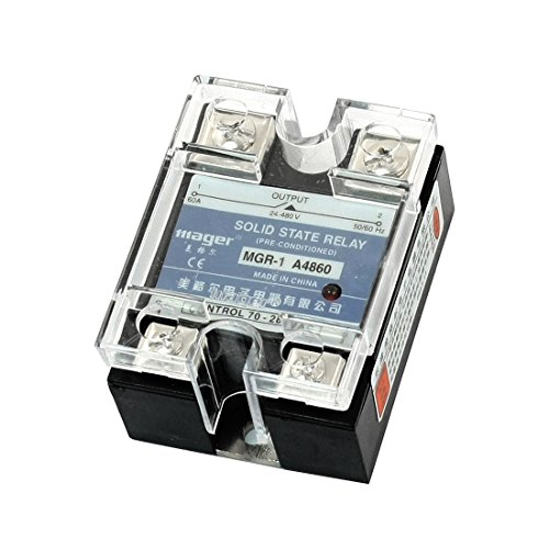 AC70-280V zu AC24-480V Löschen Cover Single Phase Solid State Relais 60A (480 Phase Single)