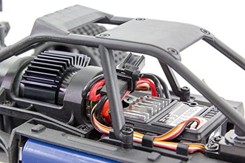 XciteRC 30408000 - Buggy one12 - 4WD RTR Modellauto, schwarze Karosserie Würth Edition - 4