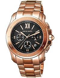 Pierre Cardin Herren-Armbanduhr Prince Chronograph Quarz Edelstahl Swiss Made