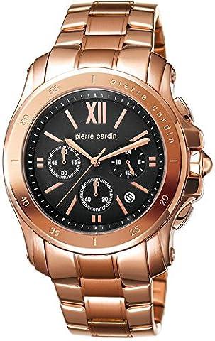 Pierre Cardin Prince Men's Quartz Watch with Black Dial Chronograph