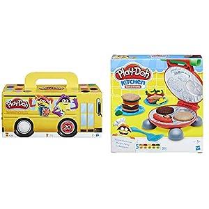 Play-Doh Pack 20 Botes (Hasbro A7924EU6) + B5521EU6 La Barbacoa, Multicolor, 21 x 20 cm (Hasbro 0816B5521EU6)
