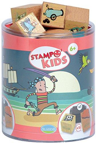 aladine-3327-stampominos-lote-de-sellos-de-madera-y-tampon-para-decorar-diseno-de-piratas