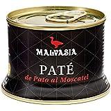 Paté de Pato Gourmet de sabor suave al moscatel Malvasia, lata abre fácil de 130 gr