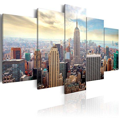 murando - Cuadro en Lienzo 200x100 cm - Impresion en calidad fotografica - Cuadro en lienzo tejido-no tejido - ciudad New York 030211-63