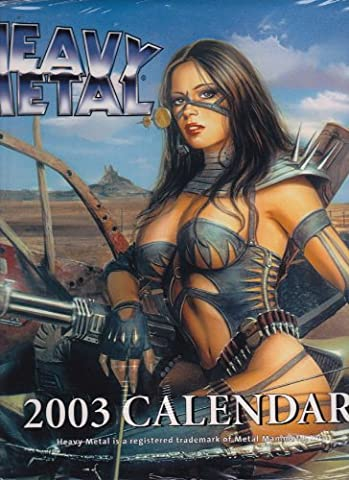Art of Heavy Metal Calendar (2003)