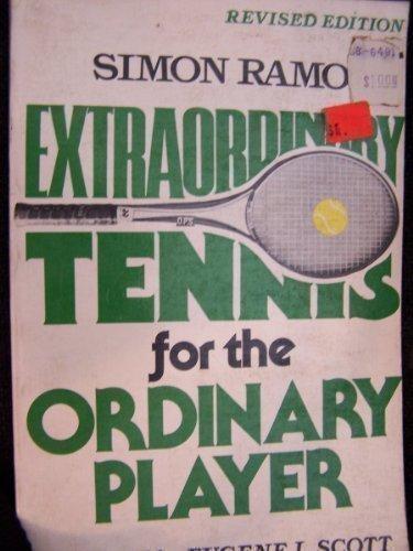 Extraordinary Tennis Ordinary Players by Rh Value Publishing (1999) Hardcover par Rh Value Publishing