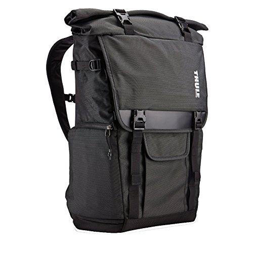 dslr rucksack Thule TCDK101K Covert DSLR Backpack Rucksack für Spiegelreflexkameras mit Laptop Fach grau