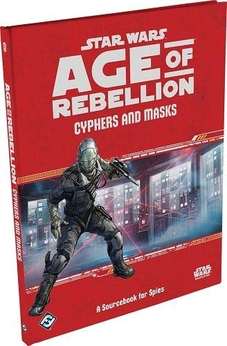 Fantasy Flight Games Cyphers and Masks: A Sourcebook for Spies:Age of Rebellion - English