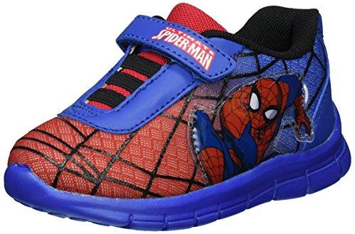 Spiderman Jungen SP003205 Low-Top, Blau (Red/L.C.Blue 637), 33 EU
