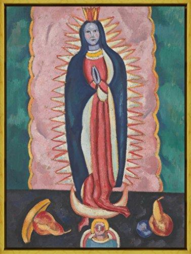 Berkin Arts Marco Marsden Hartley Giclee Lienzo Impresión Pintura Póster Reproducción Print(La Virgen de Guadalupe)