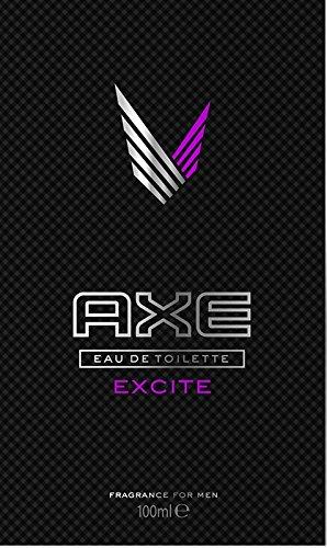 Axe Excite Eau de Toilette, 1er Pack (1 x 50 ml)