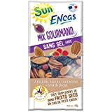 SUN Mix Encas Gourmand Raisins Cranberries Amandes Noix de Pécan 40 g -