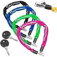 Fahrradschloss »Guardian« Sicherheitsschloss / Radschloss / Stahlgliederketten mit Schlüsseln zur Basisabsicherung - Inkl. 2 Schlüssel /ca. 60 cm lang, Durchmesser ca. 20 cm, Stärke ca. 3-4mm