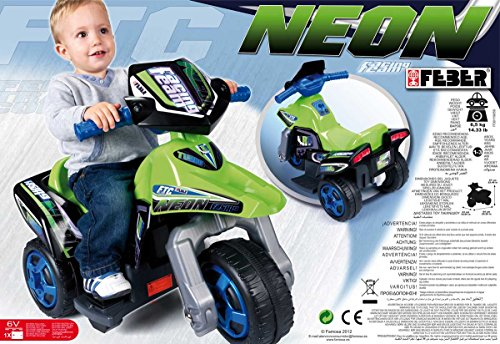 Imagen principal de FEBER - Trimoto Neon 6V (Famosa) 800007094