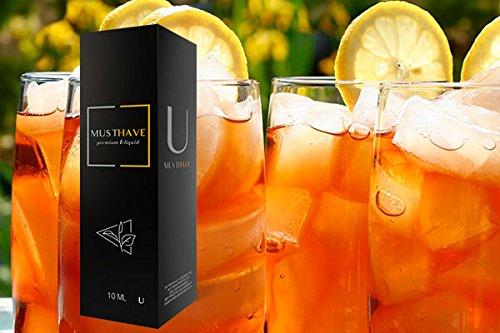 Grüner Tee-konzentrat (Must Have 10ml - Aroma U Eiskalter Grüner Tee Drachenfrucht Granatapfel Premium Konzentrat inkl 120ml Leerflasche)