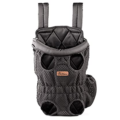 Petmars Pet Backpack Carrier: Dog And Cat Carrying Bag, Front And Back Facing, For Small Medium And Large Sized Breeds… 1