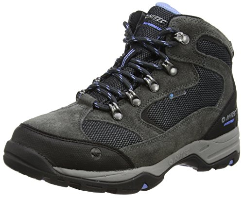 Hi-Tec Storm Waterproof, Damen Trekking- & Wanderschuhe, Grau (Charcoal/Graphite/Cornflower 051), 40 EU
