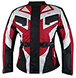 Bangla 1535 Kinder Motorrad Jacke Textilmaterial Cordura 600 Rot 176
