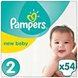 Pampers - New Baby - Couches Taille 2 (3-6 kg) - Pack Géant (x54 couches)