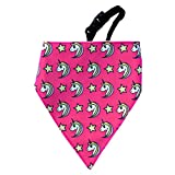 #7: Unicorn! Dog Bandana by LANA, quirky & cool dog fashion accessory with easy to use adjustable strap