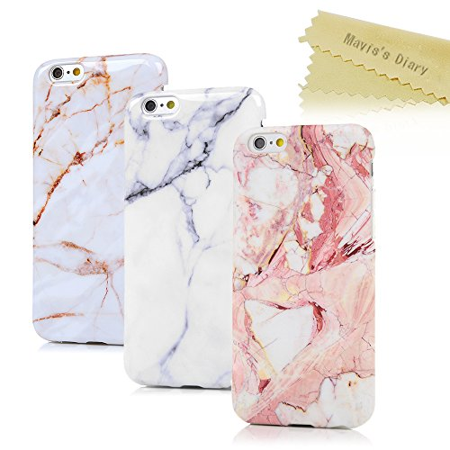 iphone-6-6s-hulle-47-zoll-maviss-diary-3x-case-marmor-muster-tpu-softcase-silikon-back-cover-tasche-