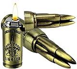 GYD Bullet U.S. 7,62mm War 3D Weapon Feuerzeug Tischfeuerzeug Sammlerstück Gewehr Pistole