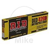 DID Cadena 420D, 88eslabones (estándar), abierto con clip Candado