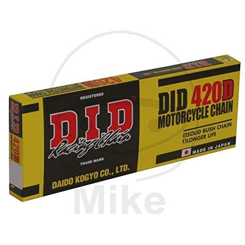 DID Kette 420 D, 112 Glieder (Standard), offen mit Clipschloss