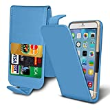 i-Tronixs (Baby Blue +Earphones) case for ZTE Blade A452