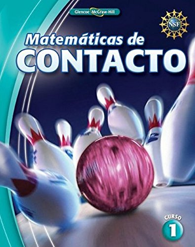 Matematicas de Contacto, Curso 1 (Elc: Impact Math) por Mcgraw-Hill Education