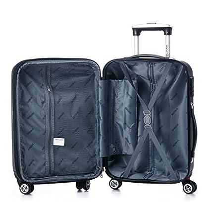 51qUaNMAgvL. SS416  - Ruedas gemelas 2066rígida Maleta Equipaje de viaje Maleta viaje para M de l de XL de Juego en 12colores, marrón, extra-large